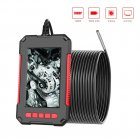 4.3inch Screen Waterproof Endoscope 3.9mm HD Handheld Industrial Borescope 2 meters