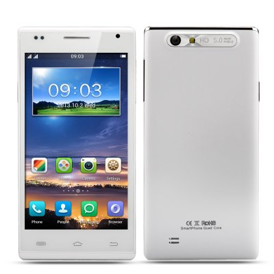Android 4.2 Quad Core Smartphone (White)