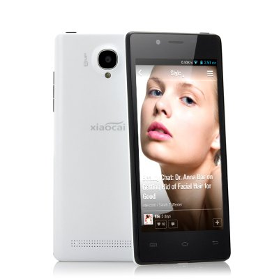 XiaoCai X9 Thin 4.5 Inch Android Phone (W)