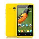 4 5 Inch Budget Phone with Android 4 2  1 3GHz Dual Core CPU  GPS and Bluetooth   In all yellow  this bright phone is available in 3 other colorways