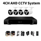 4 Channel AHD DVR Kit with 4 IP67 rugged cameras brings HD surveillance to your home of office and allows for remote viewing and monitoring