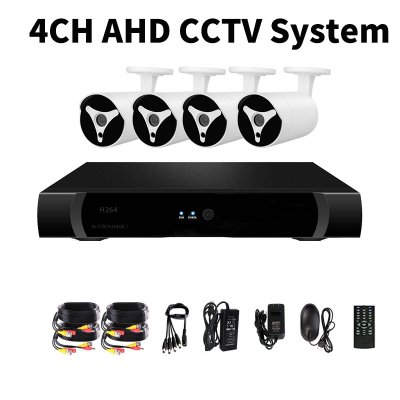 4 Channel AHD DVR Kit