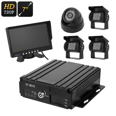 4-Channel Car DVR