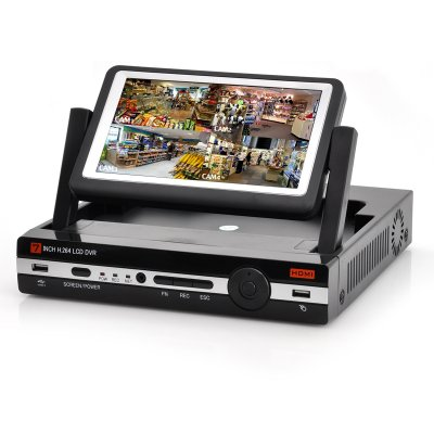4 Channel DVR With 7 Inch Monitor