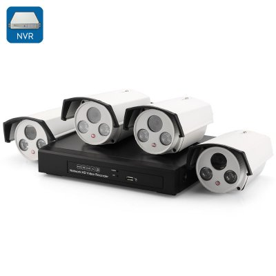 4 Channel HD NVR Kit