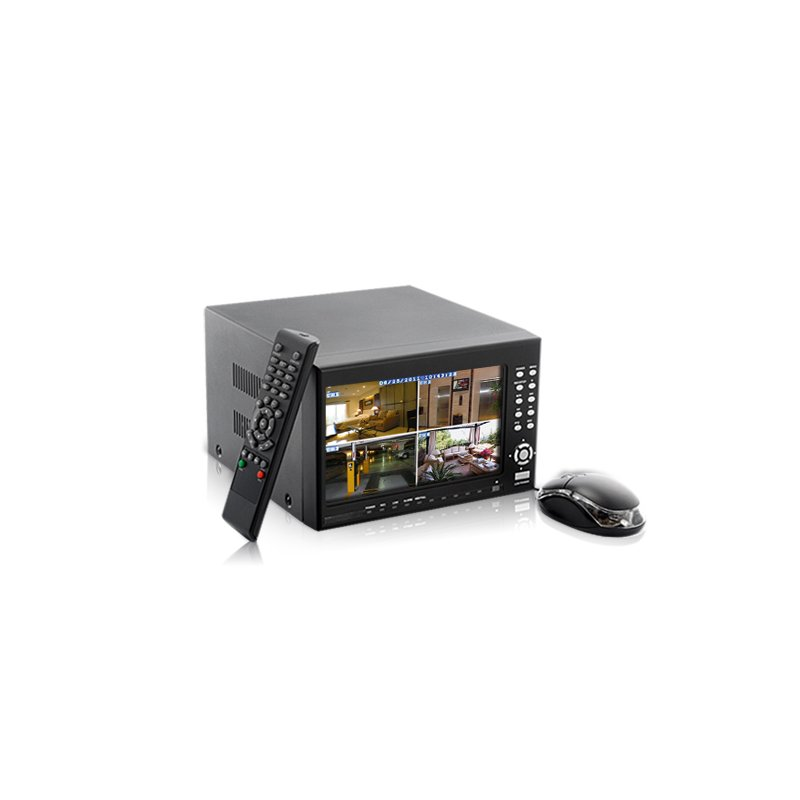 4-CH DVR Security Set with 7 Inch Screen