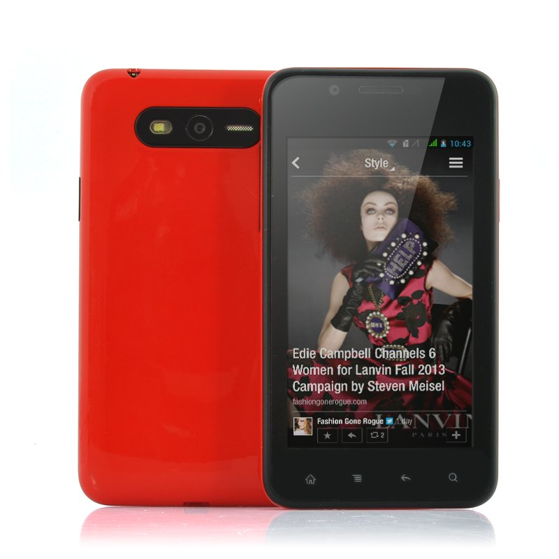 4 Inch Cheap Android 4.2 Phone - Flame (R)