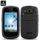 4 Inch Android 4 2 Rugged Phone has a Dual Core CPU plus an IP68 Waterproof and Dust Proof Rating