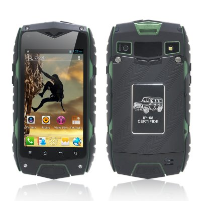 Rugged 4 Inch Android 4.2 Phone (Green)