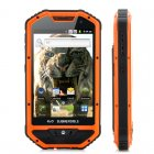 4 Inch Rugged Android Phone with 1GHz Processor  Dustproof and IP 53 Water Resistant housing   This phone won t break down on you when you need it the most