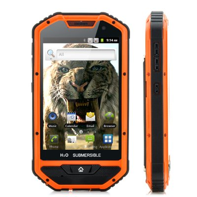 4 Inch Rugged Android Phone - Sabre-Tooth II