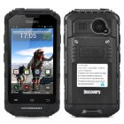4 Inch Rugged Android Smartphone (Black)