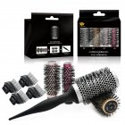 4 Sizes Roller Round Brush Set Ceramic Ionic Hairdressing Brushes Hair Round Comb Curling Hairbrush 4 Sizes Roller