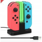 4 in 1 Game Controller USB Charge Station Fast Charging Stand As shown