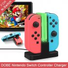 4-in-1 Game Controller USB Charge Station Fast Charging Stand As shown
