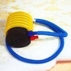 4-inch Pedaling Air Pump Portable Two-way Foot Air Pump For Inflatable Products yellow