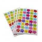 400Pcs Children Kids Stars Face Reward Stickers Perfect for encouraging children