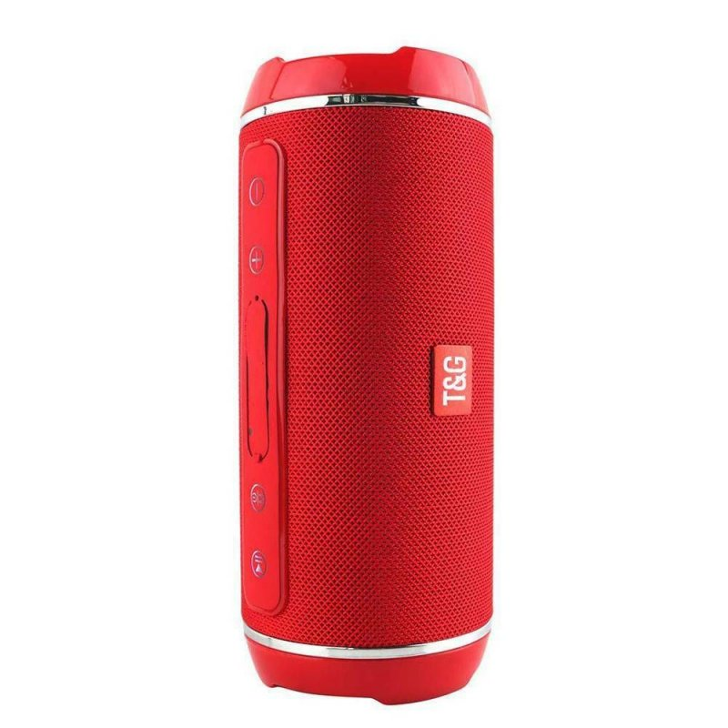 40w Wireless Bluetooth Speaker Waterproof Stereo Bass USB/TF/AUX MP3 Portable Music Player Red