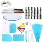 41Pcs/Set Decorating Tools Set for Cake Pastry Baking 41pcs