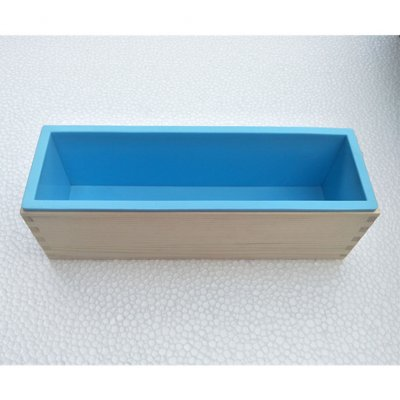 Silicone Loaf Mold Wood Box Set