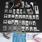 42Pcs/Set Multifunctional Sewing Accessories for Sewing Machine Presser Foot 42pcs/set