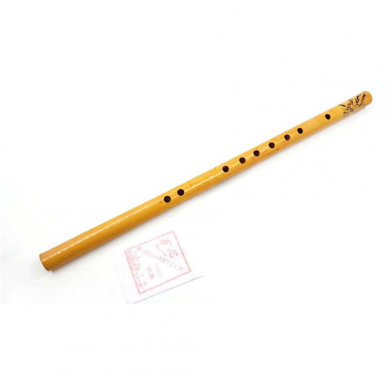 44CM Chinese Traditional 6 Hole Bamboo Flute Vertical Flute Musical Instrument  SD-1