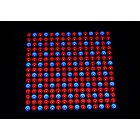 45W 225LED Surface Mounted Panel Grow Light with 165 Red and 60 blue LEDs emitting 460 470nm and 620 630nm wavelengths for healthy year round plant growth