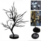 48 LED Potted Plum Blossom Tree Light Battery Box Night Light Home Christmas Wedding Decoration