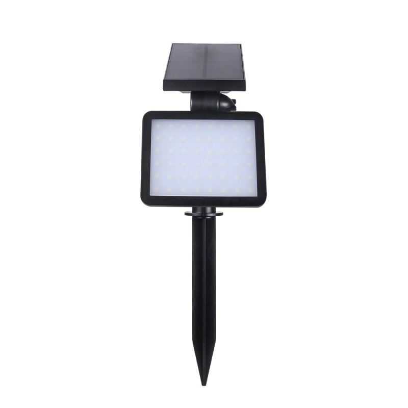 48 PCs LEDs Solar Light Lamp Light Control Night Wall Light Sensor Outdoor Lighting Lamp for Lawn Garden