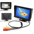 480 272 HD Car Monitor Display for Car Rearview Parking black