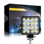 48W 6000k LED Spot Beam Square Work Lights Lamp Tractor SUV Truck 4WD 12V 24V waterproof Automobile LED working light White light
