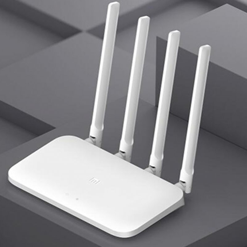 4A Gigabit Router 2.4 GHz + 5GHz WiFi 16MB ROM + 128MB DDR3 High Gain 4 Antenna APP Control IPv6 EU Plug