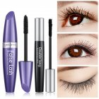 4D Black Curling Mascara Grafting Fiber Set Quick Dry Thick Extension Waterproof Eye Cosmetics