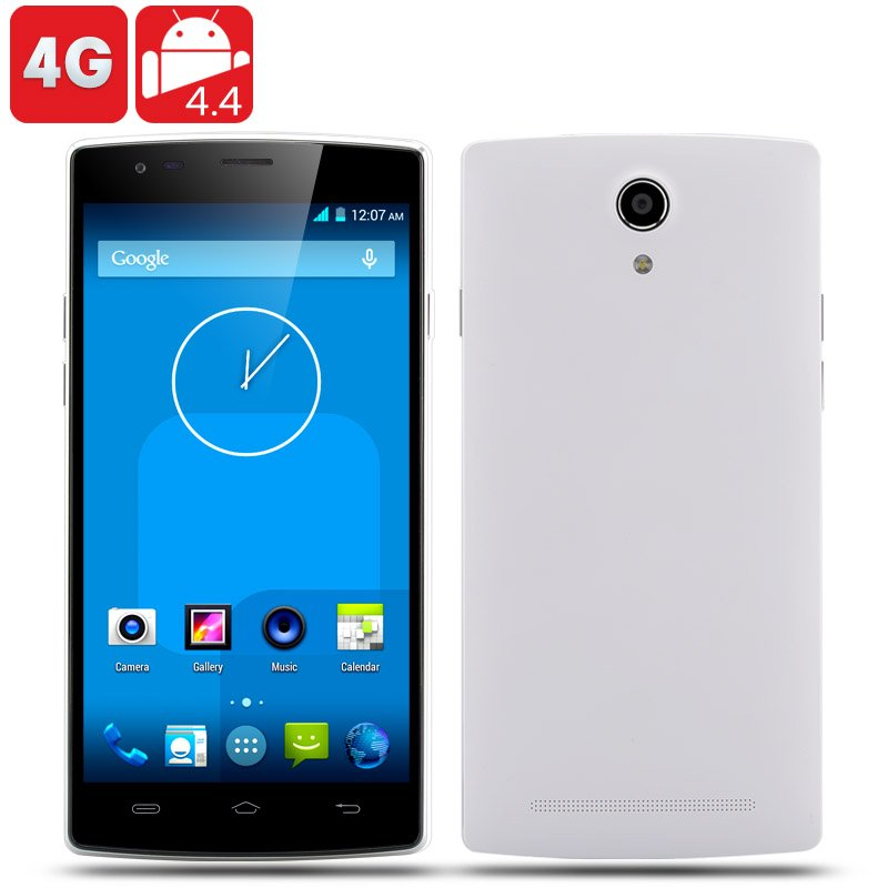 4G Android 4.4 Smartphone (White)