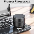 4K 1080P WIFI HD Camera Mini Bluetooth Speaker Wireless Video Recorder black