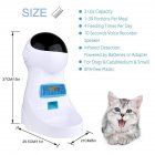 4L Big Capacity Automatic Pet Feeder Food Dispenser with Recording Function