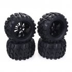 4PCS 1 10  Truck Wheels Tires for HPI HSP Savage XS TM Flux ZD Racing LRP 4PCS