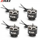 4PCS EMAX ECO 1106 2~3S 4500KV 6000KV CW Brushless Motor For FPV Racing Drone RC Quadcopter Multicopter RC Parts Spare Parts Accs 4500KV 4pcs KSX3828X4