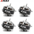 4PCS EMAX ECO 1404 2~4S 3700KV 6000KV CW Brushless Motor For RC Drone FPV Racing Quadcopter Multirotor RC Parts Accessories 3700KV KSX3830X4