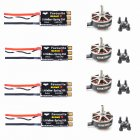 4PCS FVT LittleBee Little Bee BLHeli_S SPRING 2-6S 30A ESC +GTSKY 2306 2400kv Brushless Motors for QAV-X Loki FPV Raing Quadcopter