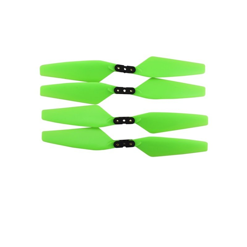 4PCS Propeller for MJX Bugs 4W B4W EX3 D88 HS550 Aerial Brushless Drone Accessories green
