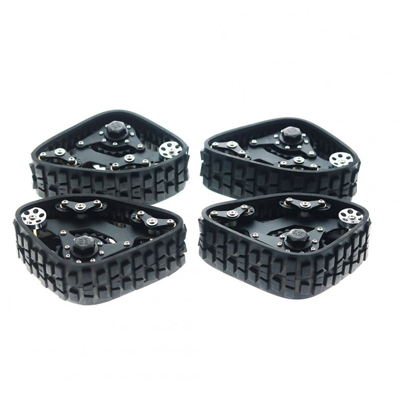4PCS TRX4 Tracks Wheel Sandmobile Conversion Snow Tire for Traxxas TRX-4 1/10 RC Crawler Car 4PCS