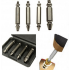 4Pcs Broken Bolt Remover Extractor Drill Bits Easy Out Stud Reverse Damage Screw S2 material