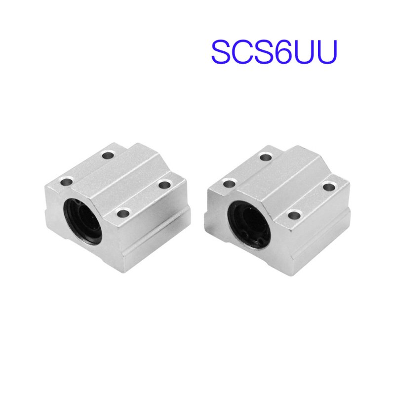 4Pcs  SCS8UU SCS6UU SCS10UU Linear Ball Bearing for 3D CNC Printer Parts 4-piece set of SCS6UU
