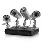 4 Camera + DVR Surveillance Kit