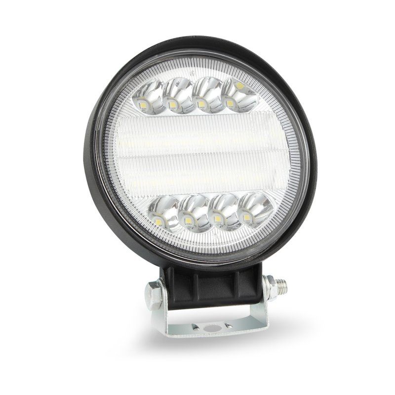 4inch Round LED Work Light 4WD SUV LED 200W 6000K Flood Spot Beams Offroad Bar Car Headlight