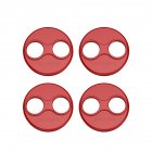 4pcs Motor Cover Metal Cap for DJI Mavic Mini Drone Dust-proof Engine Protector Guard Protective Accessory  4pcs red