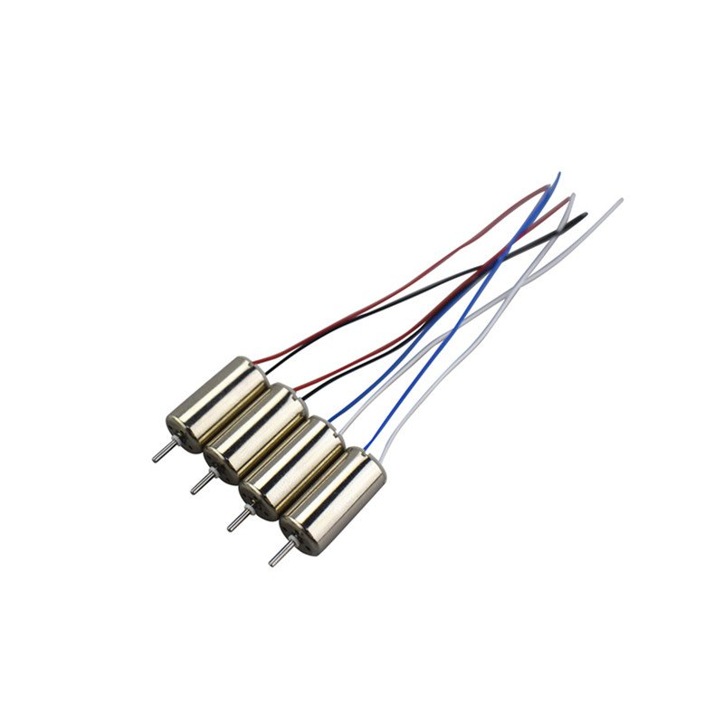 4pcs UDI U61 U61W A30 A30W Four-axis Aircraft Remote Control Helicopter Spare Parts Motor as shown