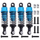 4pcs for 1/18 WLtoys A959 Upgrade Parts Aluminum Shock Absorber Front & Rear A949-55 Fit TOZO C1022 RC Car Remote Control Toys blue