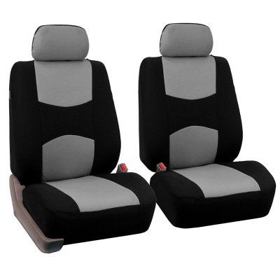 Car Front Seat Cover Gray